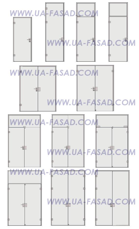 Автоматические алюминиевые раздвижные двери цена